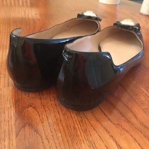 Tory Burch Shoes - Tory Burch Black Patton Melody Flats Size 7